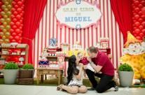 O gran circo do Miguel